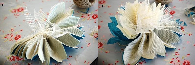 цветы из фатина своими руками