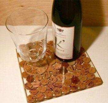 Поделки из винных пробок фото