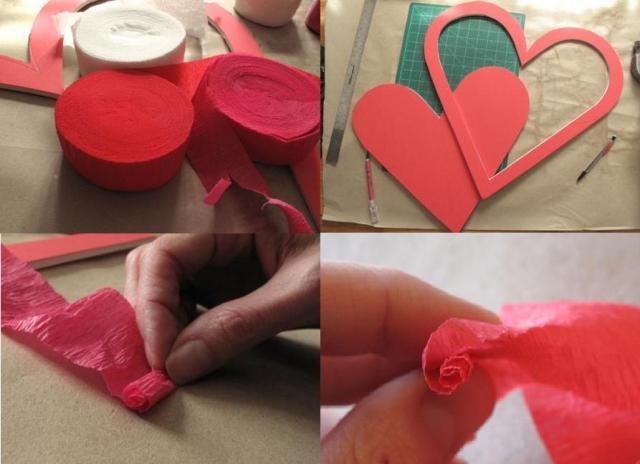 349Поделка сердце с руками