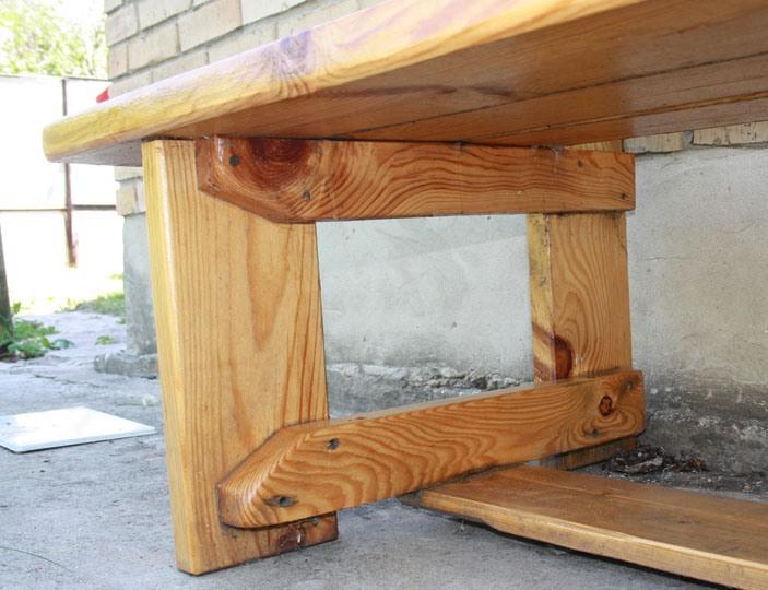 Скамейки для дачи, фото. Видео, как сделать скамейку