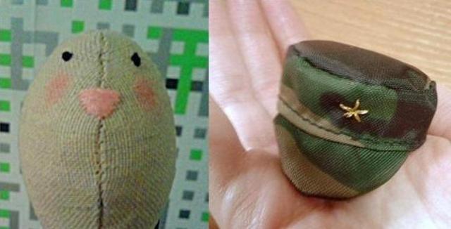 Мордочку вышиваем нитками, можно также воспользоваться акриловыми красками.