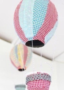 Детское творчество поделка - воздушный шар делаем своими руками