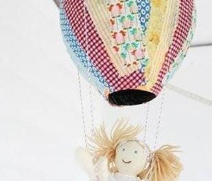Детское творчество поделка воздушный шар своими руками