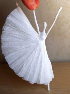 Поделки своими руками балерина фото 94