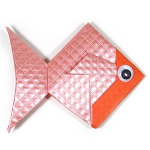 Поделка рыбка оригами своими руками