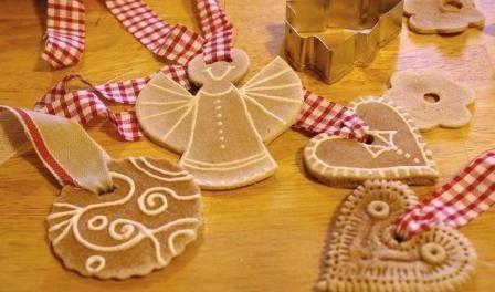 Соленое тесто браслеты