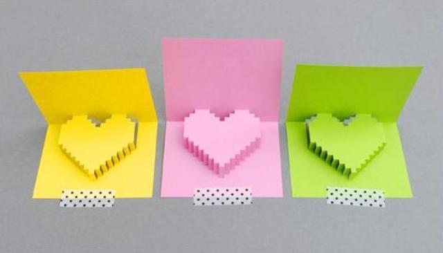 Поделки из бумаги-открытки своими руками
