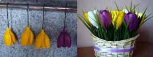 Холодный фарфор, поделки цветы своими руками