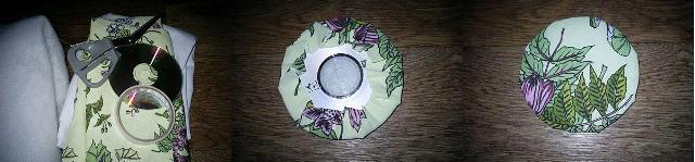 Мастер-класс подставка из CD-диска