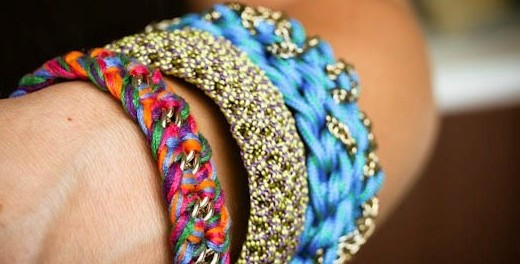 Плетение браслетов из шнурков своими руками
