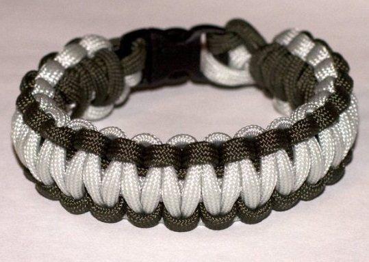 Техника плетения браслета - фенечки из шнурков