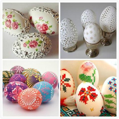 Пасхальные яйца своими руками мк в стиле пейп-арт
