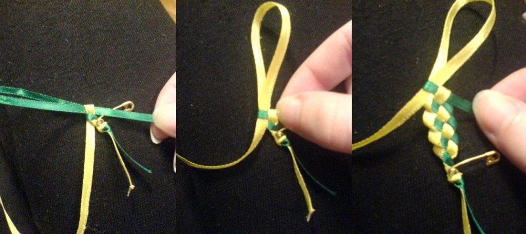 Плетение из лент : схемы и пошаговые инструкции о том, как сделать фенечки