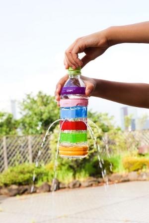 Фонтан для детей из бутылки