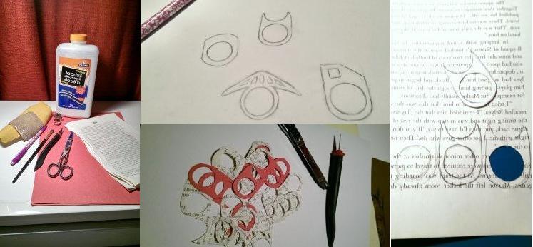 Кольцо из бумаги как сделать своими руками