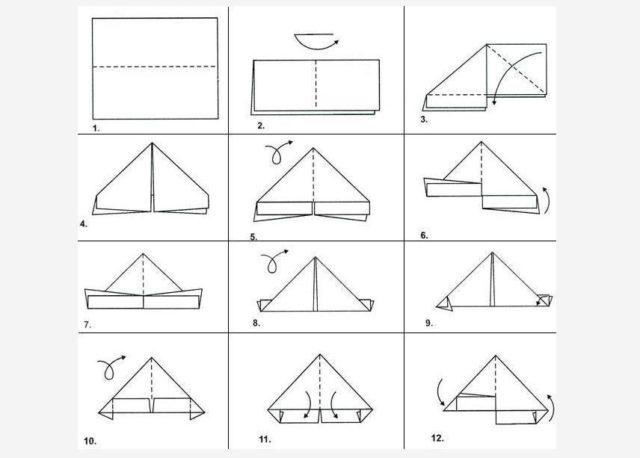 Как складывать модули для оригами