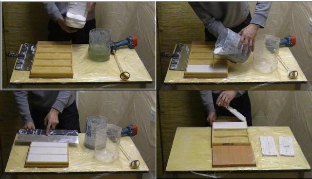 Правила приготовления гипсового раствора