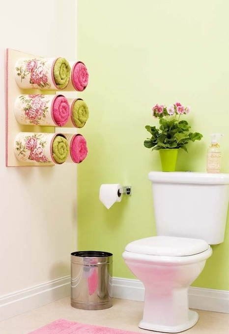 Полотенцедержатель для ванной своими руками МК с фото