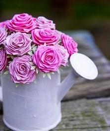 Розы из ткани своими руками мастер класс фото