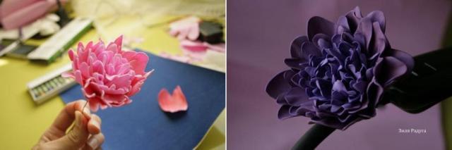 Вы можете самостоятельно сделать абсолютно любой цветок из фоамирана.