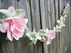 Мастер класс по изготовлению: цветы из ткани
