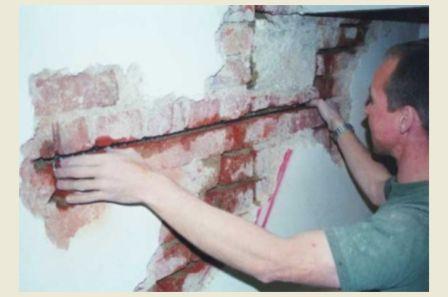 Как заделать трещину в стене своими руками