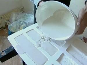 Производство плитки из гипса своими руками