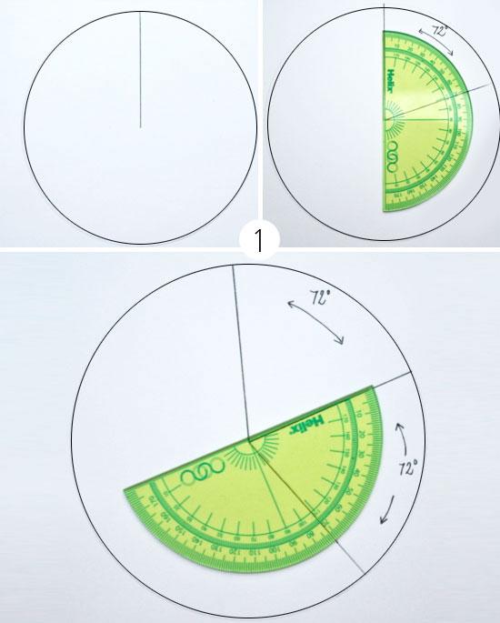 Инструкция по изготовлению объёмной звезды