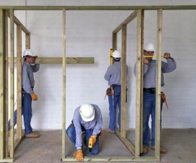 Строительство межкомнатных перегородок своими руками