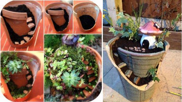Поделки из пней для сада своими руками