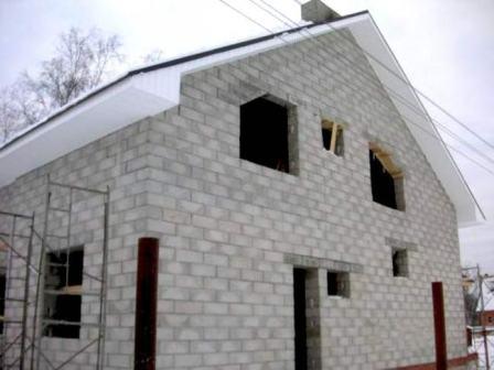 Расчет стоимости строительства дома из пеноблока