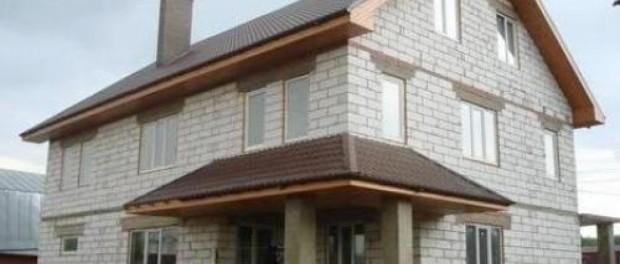 Дом из пеноблока как построить своими руками