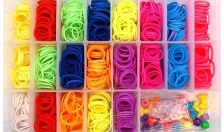 Как плести браслеты из резинок цветной