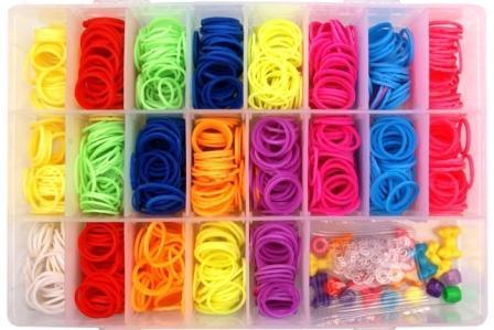 как плести браслеты из популярных цветных резиночек Rainbow Loom
