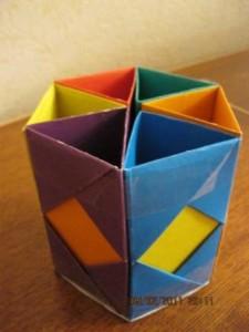 Мастер-класс поделки для школьников: карандашница
