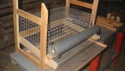 Клетка деревянная