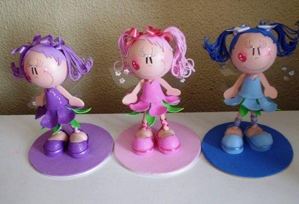 Куклы из фоамирана: фото мастер класс своими руками
