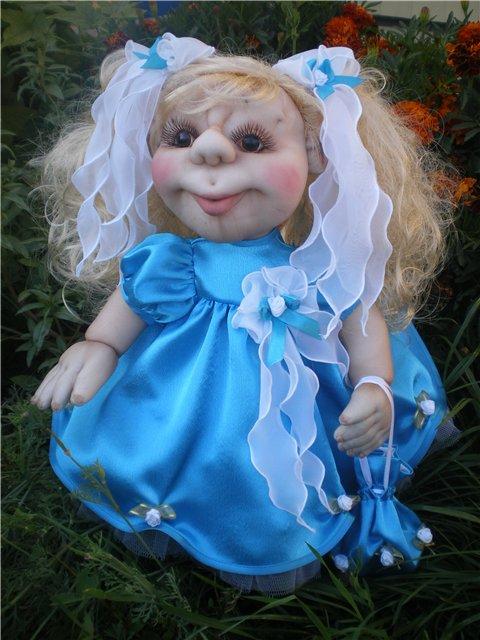 Кукла из чулка своими руками фото 683
