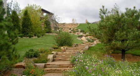 Садовая лестница своими руками, виды и фото