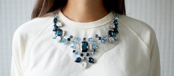 Ожерелье из камней. Делаем своими руками