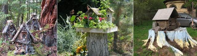 домики для птиц и декора