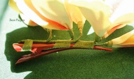 Мастер класс цветка из фома