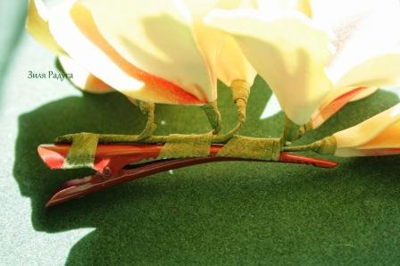 Делаем цветы канна из фома, мастер класс с фото