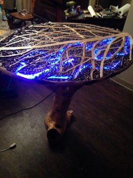 Журнальный столик из дерева делаем своими руками
