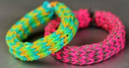 В чем причина такой популярности браслетов, выполненных из резинок?