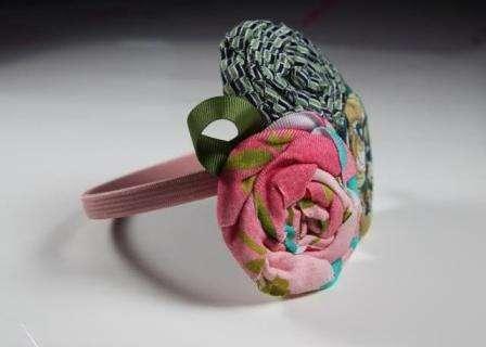 Мастер класс: изготовление цветов из ткани своими руками