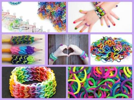 Необходимые материалы для плетения браслетов