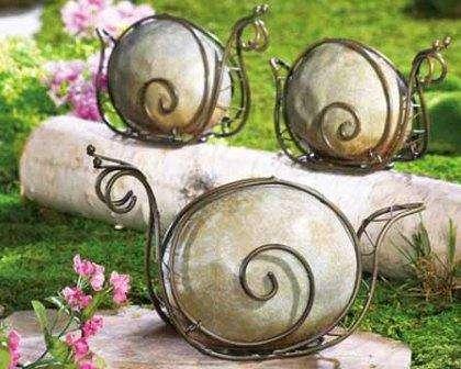 Поделки из камней своими руками фото для дачи и сада