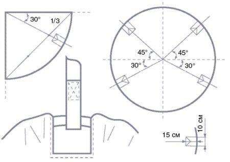 Схема кресла подвесного