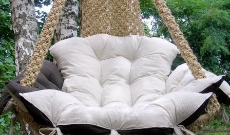 Кресло подвесное - гамак, как сделать своими руками